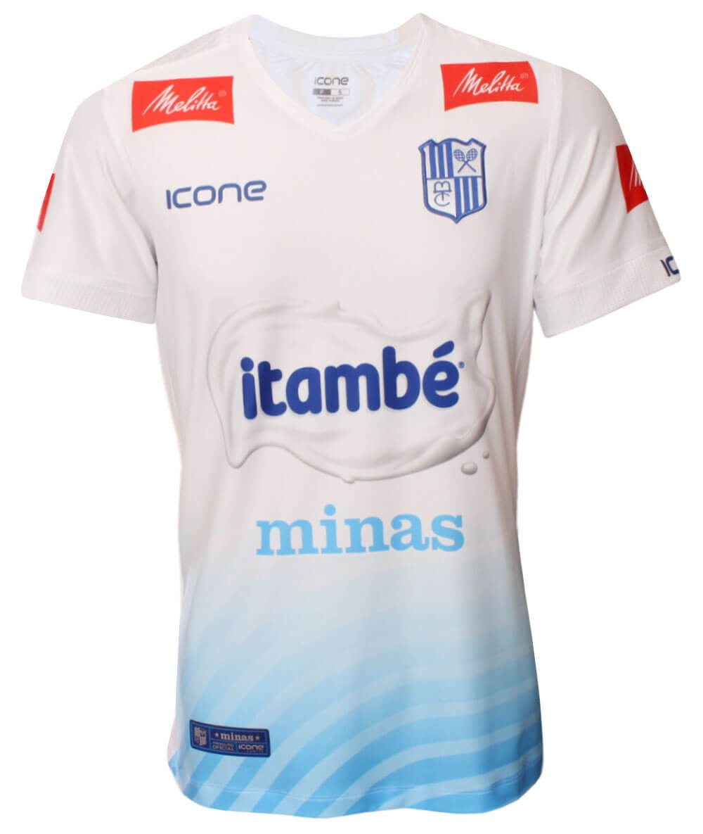 Camisa de Vôlei Itambé/Minas 2020/21 Branca - S/N° - Masculina