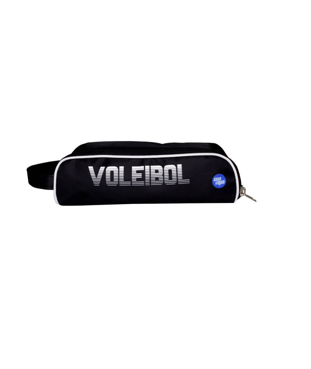 Necessaire Voleibol Saque Viagem Preta 2020/21
