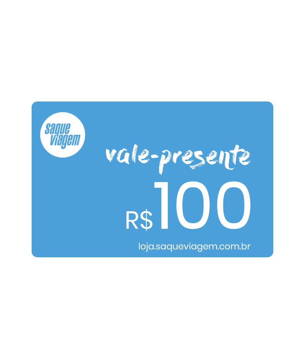 Vale-presente virtual R$100