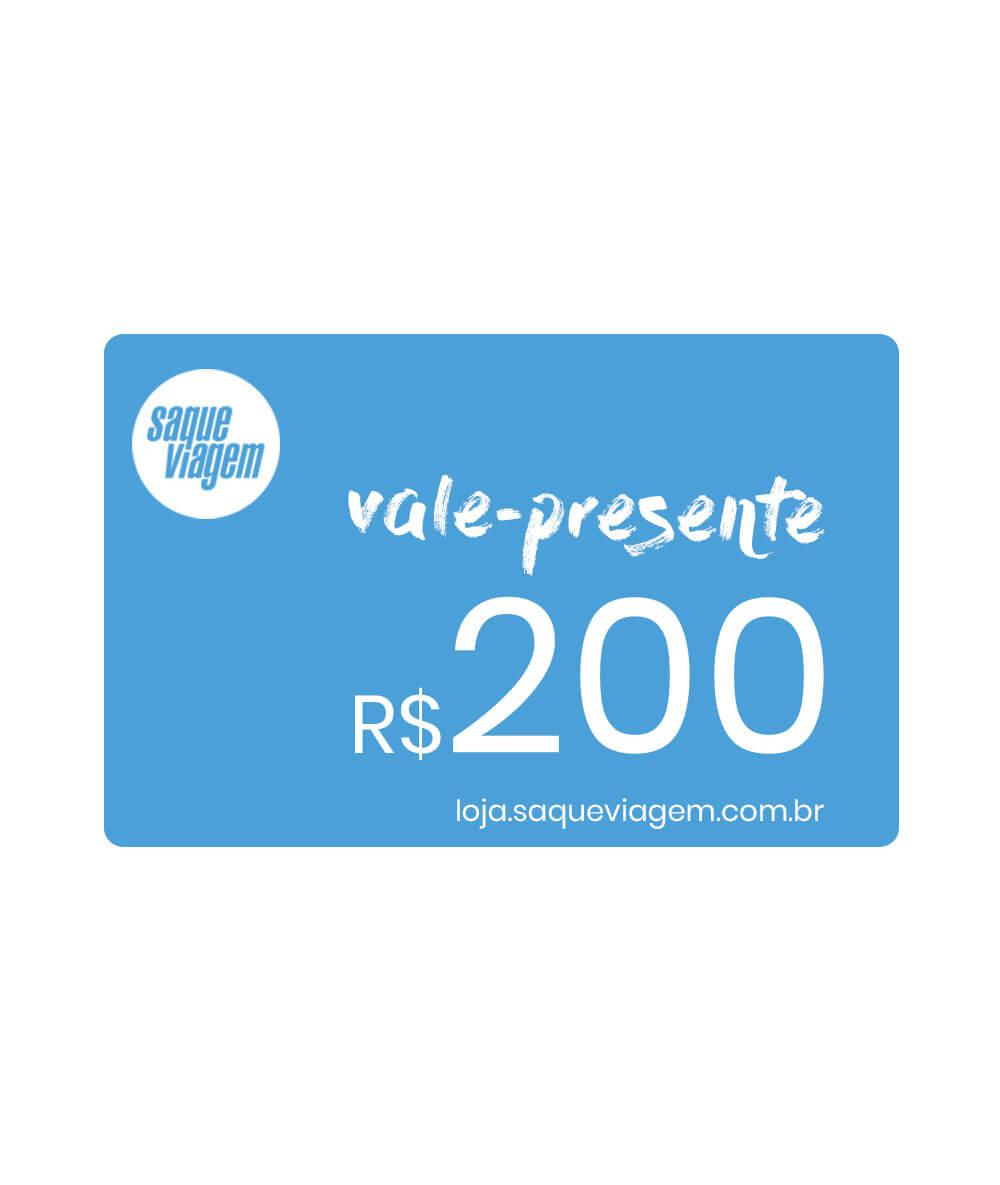 Vale-presente virtual R$200