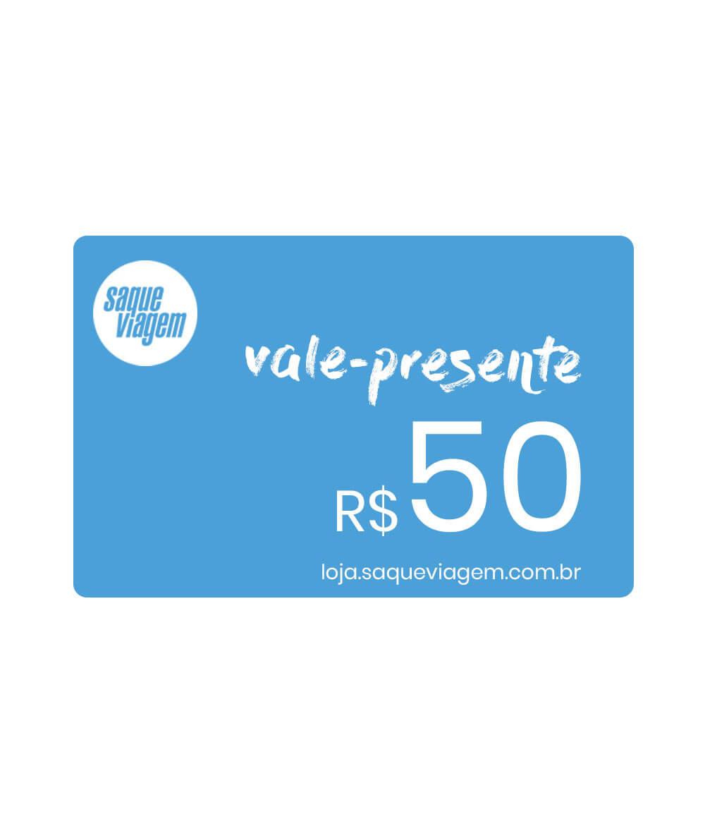 Vale-presente virtual R$50