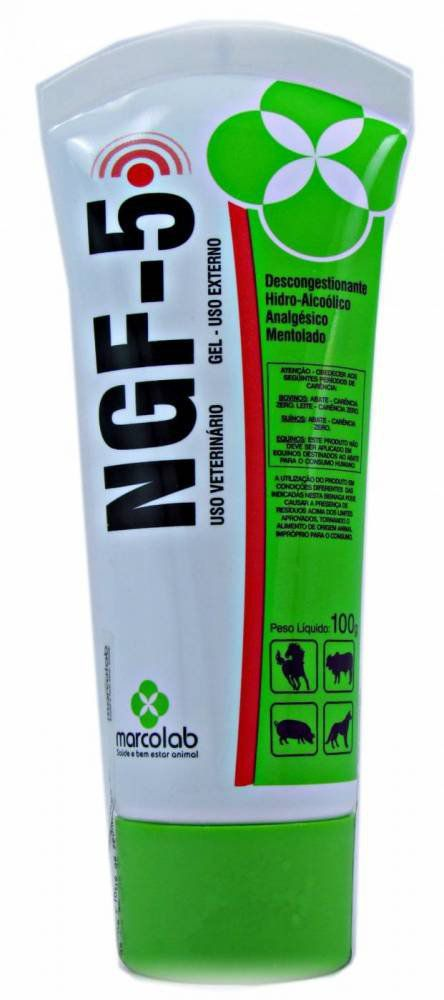 Analgésico Marcolab NGF-5 Gel 100g