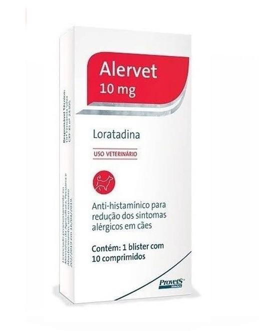 Antialérgico Alervet 10mg