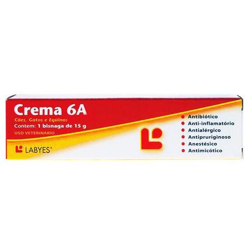 Antibiótico Labyes Crema 6A