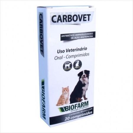 Antidiarreico Carbovet 20 Comprimidos