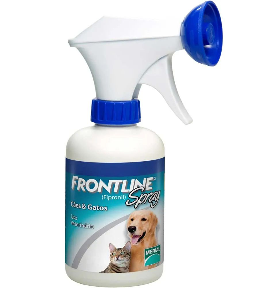 Antipulgas e Carrapatos Frontline Spray 250ml para Cães e Gatos