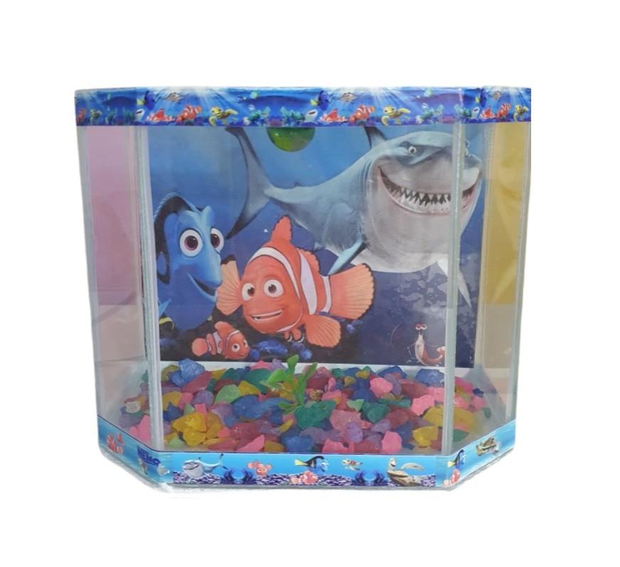 Aquário Beteira Design para Peixes Omega Decorada