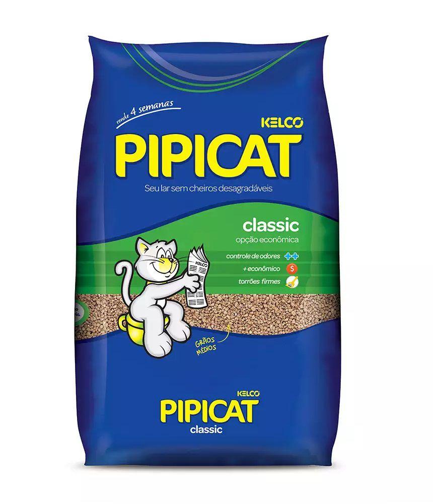 Areia Sanitária Kelco Pipicat Classic 4Kg