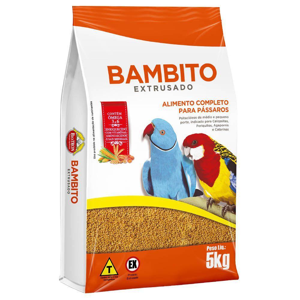 Bambito Extrusado Biotron 5Kg