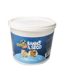 Banho a Seco Power Pets Hamster e Chinchila 1Kg