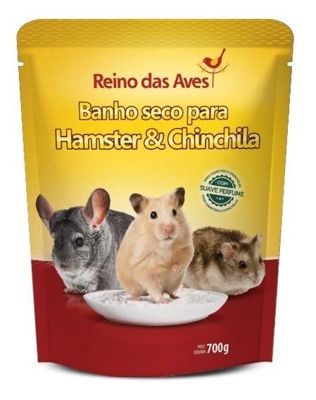 Banho Seco Para Chinchila E Hamster 700gr