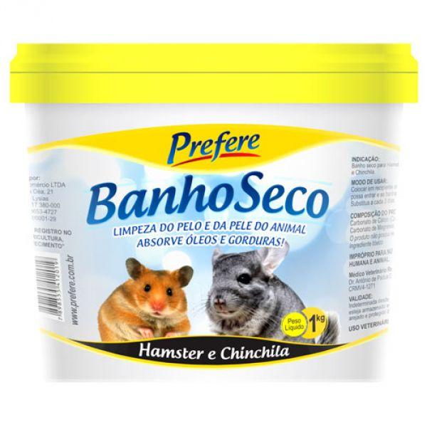 Banho Seco para Hamster e Chinchila 1kg