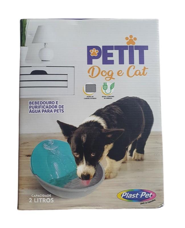 Bebedouro e Purificador Fonte Petit - Dog e Cat