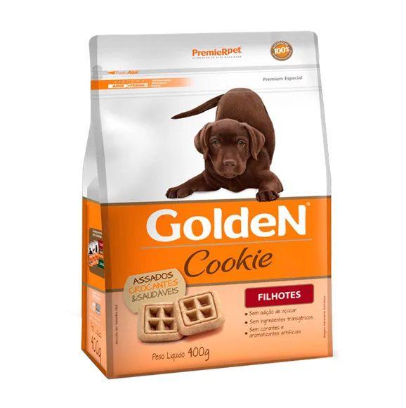 Biscoito Golden Cookie para Cães Cães Filhotes 400g
