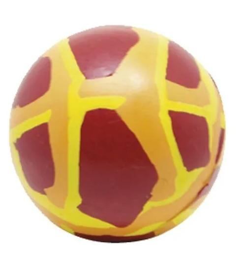 Bola de Borracha Natural Big Dog Maciça Mescla 80mm