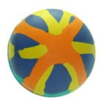 Brinquedo Bola Borracha Pequena LCM para Cães 55mm