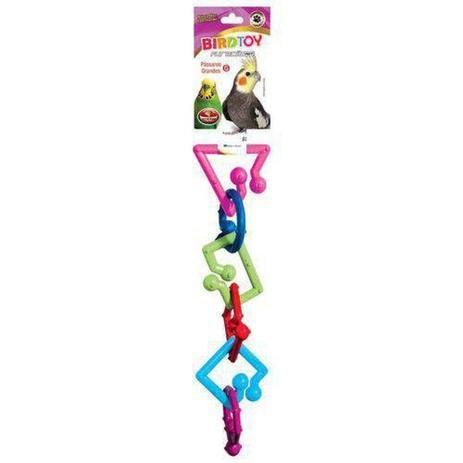Brinquedo Para Pássaros Psitacídeo Bird Toy Periquito Pets