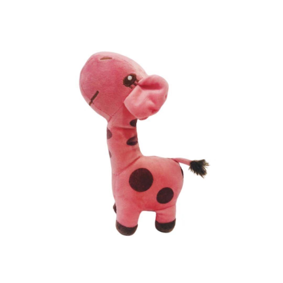 Brinquedo Pelúcia Dona Girafa África