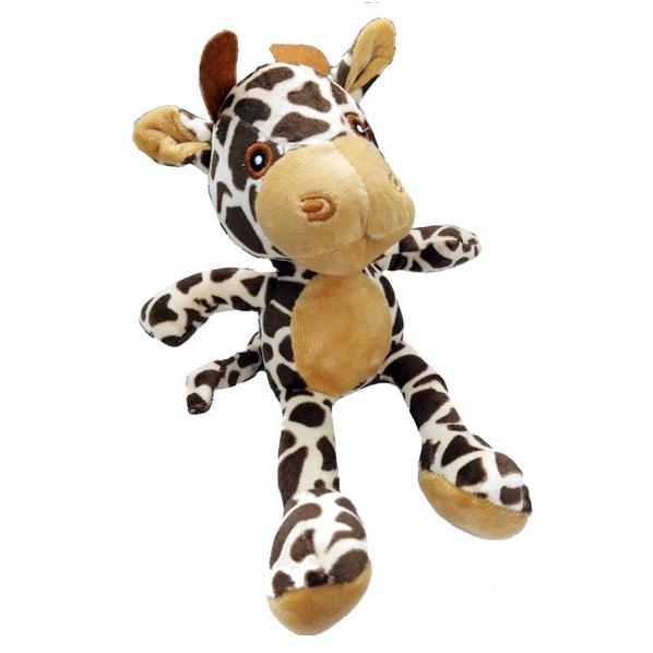 Brinquedo Pelúcia Dona Girafa África para Cães e Gatos