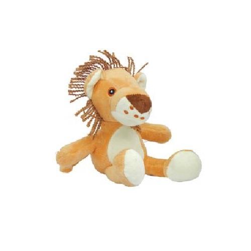 Brinquedo Pelúcia Lion África para Cães e Gatos