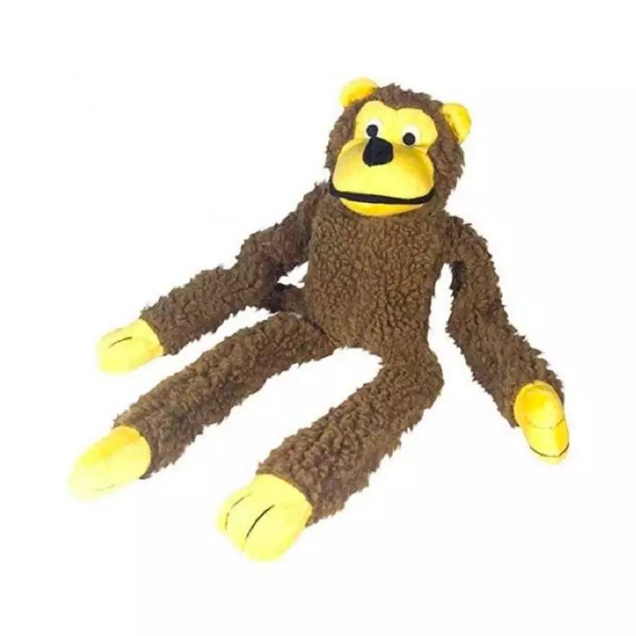 Brinquedo Pelúcia Macaco Para Cães