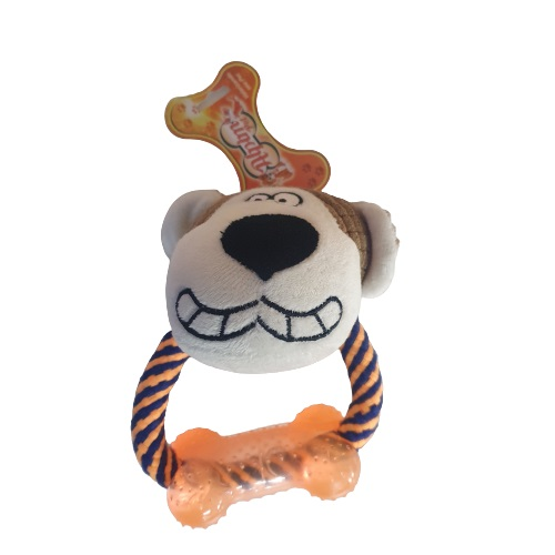 Brinquedo Pelúcia Modedor Monkey para Cães