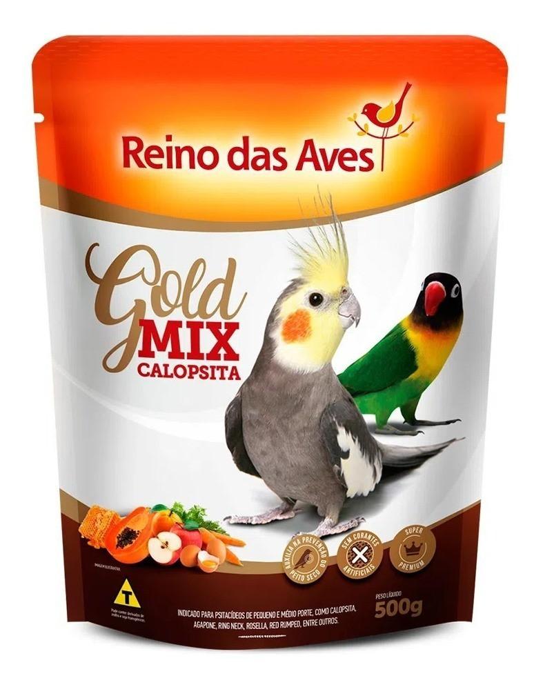 Ração Calopsita Gold Mix 500g