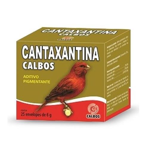 Cantaxantina Canários Vermelhos 6g Calbos