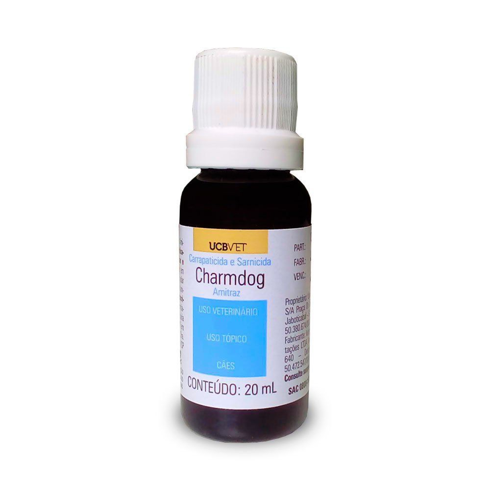 Carrapaticida Sarnicida Charmdog - 20ml