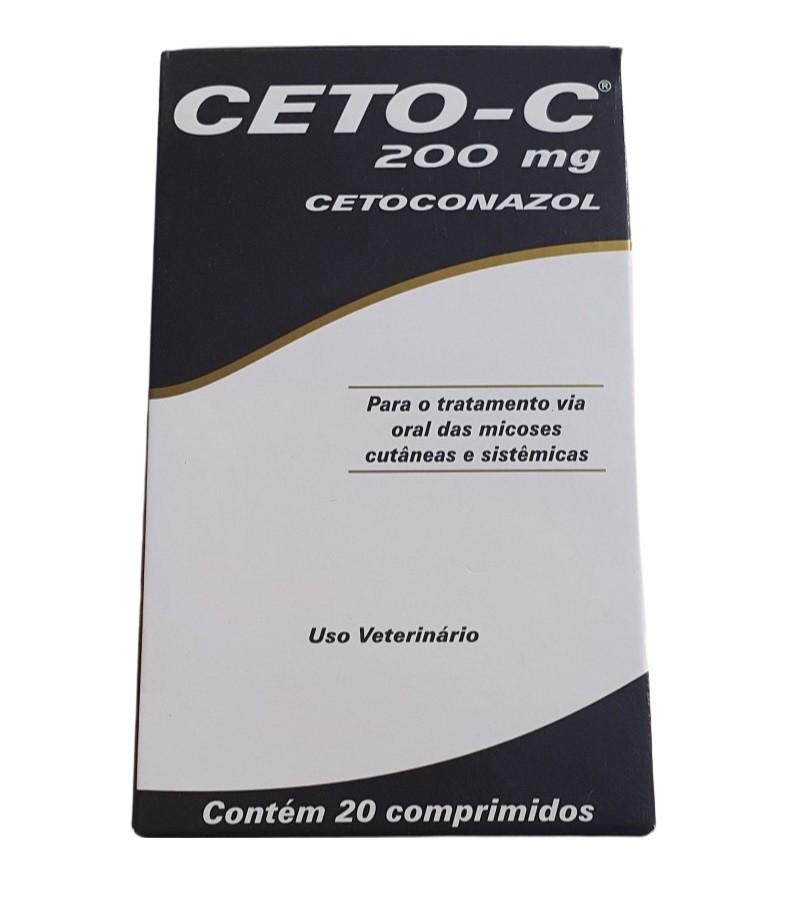 Cetaconazol Ceto-C 20 Comprimidos