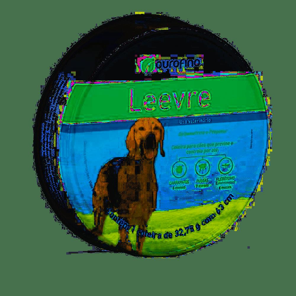 Coleira Antipulgas Leevre Ourofino 32,75g 63cm