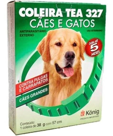 Coleira Antipulgas Tea 327 Para Cães Raças Grandes 38gr 57cm