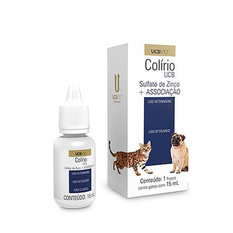 Colírio UCB para Cães e Gatos 15ml