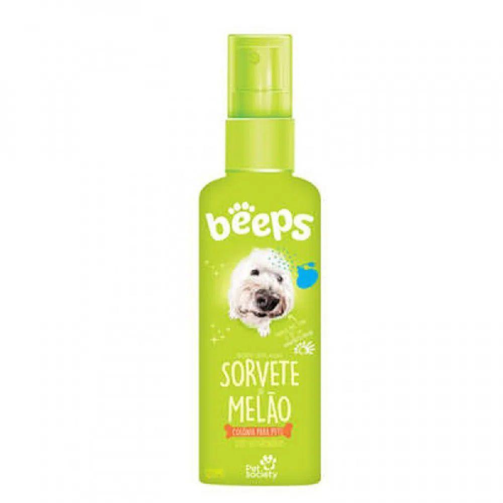 Colônia Body Splash Beeps Sorvete de Melão Pet Society 120ml