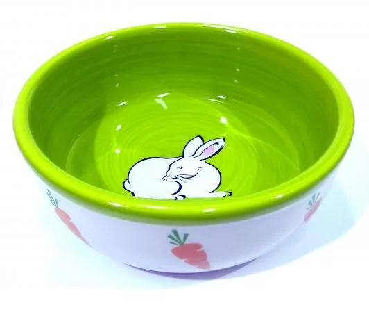 Comedouro Bebedouro Coelho Hamster Porcelana 300 ml