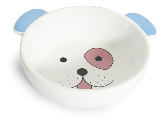 Comedouro Porcelana Face Dog 350 Ml.