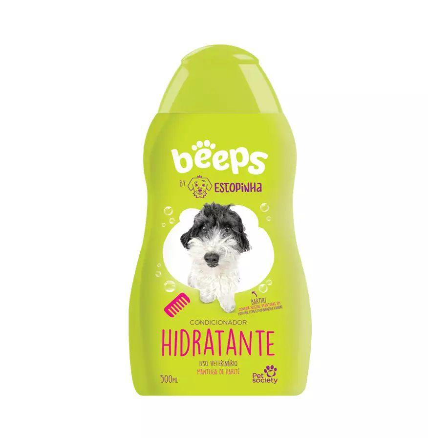 Condicionador Beeps para Cães Estopinha Hidratante 500ml