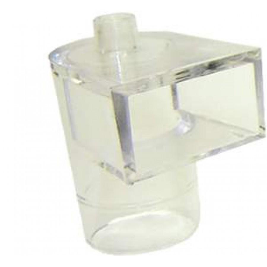 Cotovelo Cristal Para Filtro Biológico