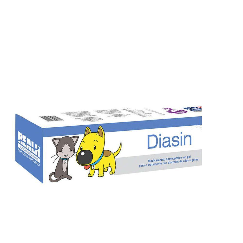 Diasin 16g Homeopatico diarréia Cães e Gatos