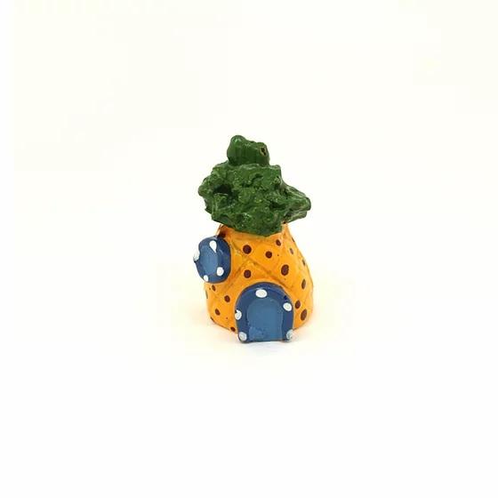 Enfeite Ornamental para Aquário Abacaxi Mini
