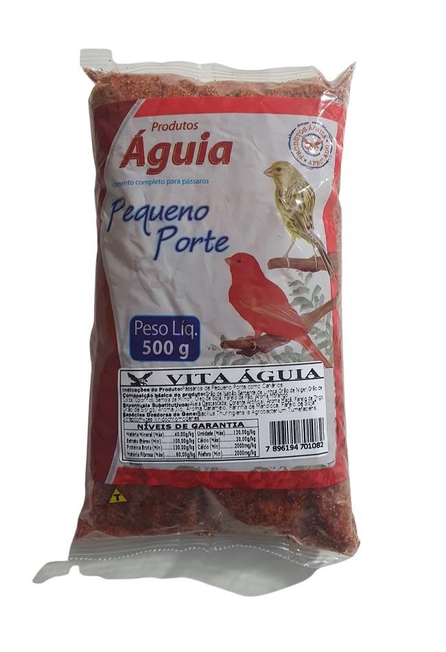 Farinhada Super Vita Vermelha para Canário Águia 500g