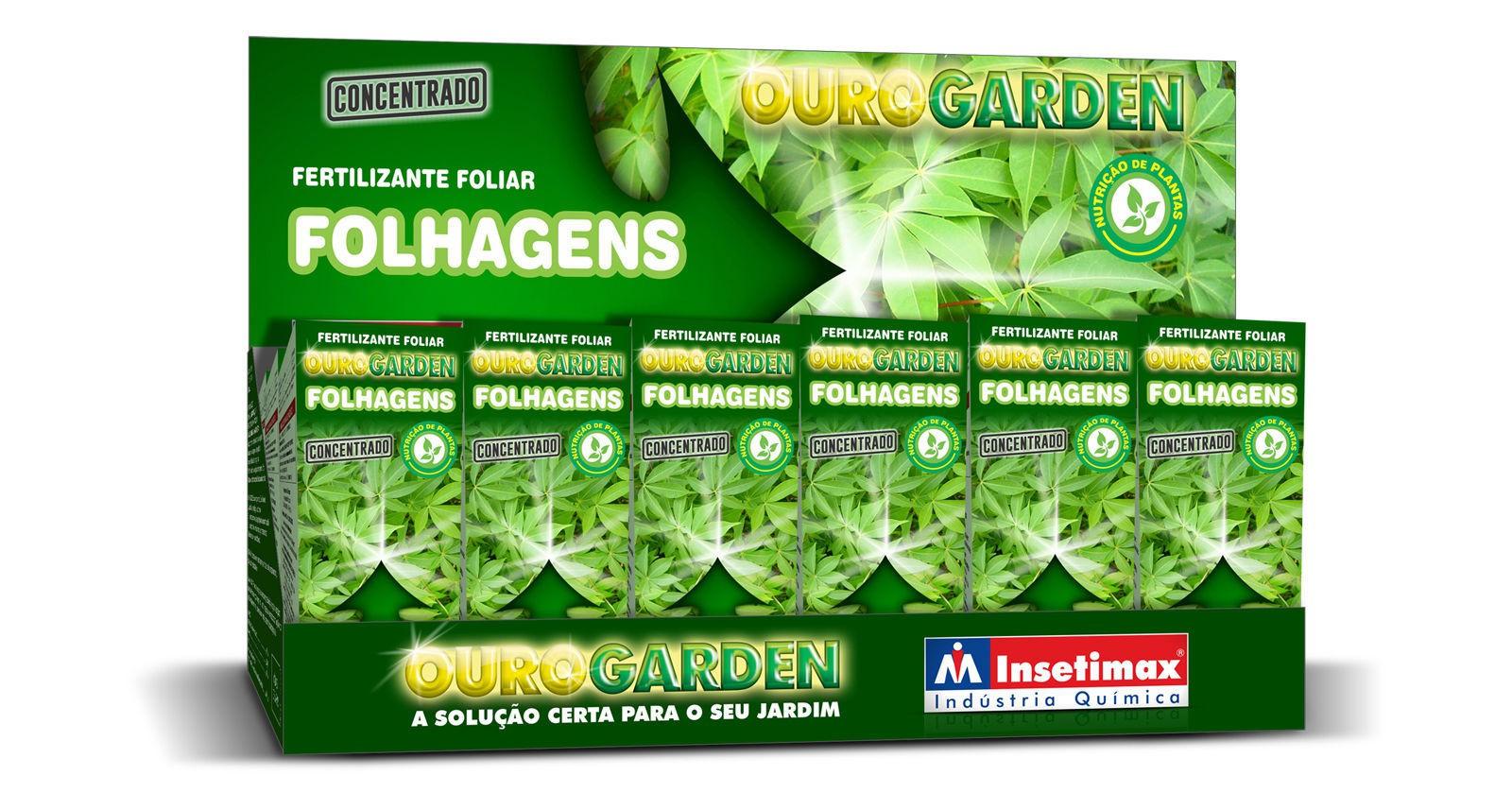 Fertilizante Ouro Garden Folhagens 100ml