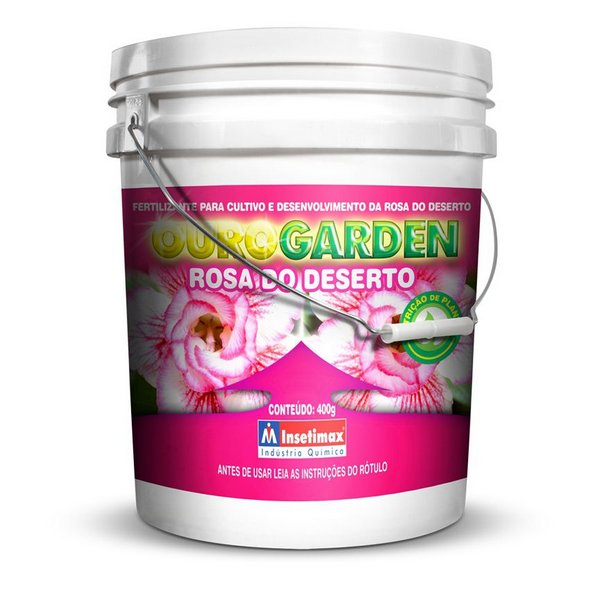 Fertilizante Ouro Garden Rosa do Deserto - 400G