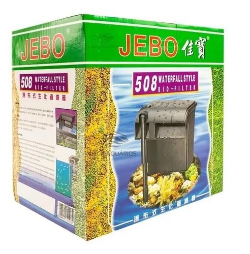 Filtro Externo Jebo 508 Vazão 980L/H 10W 110V