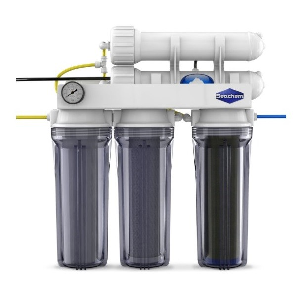 Filtro Seachem Pinnacle Osmose Reversa de Agua 800L / 200 Gal/Dia