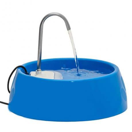 Fonte Bebedouro e Purificador de Água Mini Para Cães e Gatos Bivolt - Amicus Azul