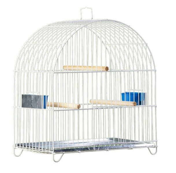 Gaiola Arco Pássaro Preto