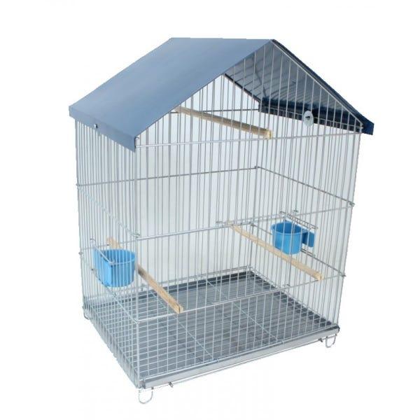Gaiola Viveiro Parede Zincado para Pássaros Calopsita Periquito