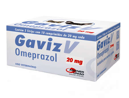 Gaviz V Omeprazol 20mg com 10 Comprimidos