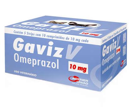 Gaviz V Omeprazol 10mg com 10 Comprimidos